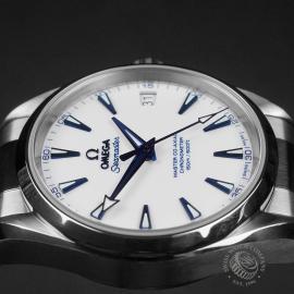 OM22613S Omega Seamaster Aqua Terra Titanium Close7