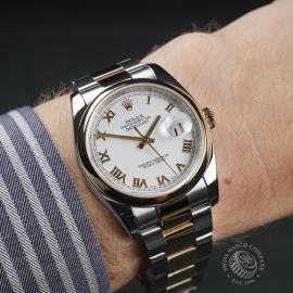 RO22492S Rolex Datejust 36 Wrist