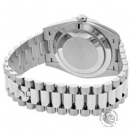 RO22142S Rolex Day-Date 40 White Gold Unworn Back