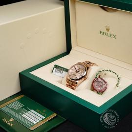 RO22196S Rolex Day-Date 36 Everose Box