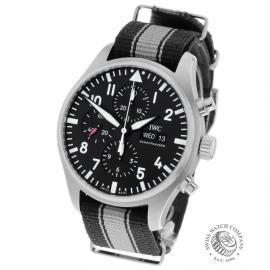 IW21663S IWC Pilots Chronograph Back