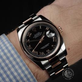 RO22380S Rolex Datejust 36 Wrist