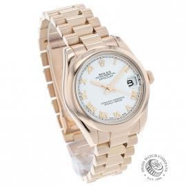 RO1852P Rolex Ladies Datejust 18ct Dial 1
