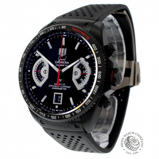 ddea14267484 Tag Heuer Grand Carrera Calibre 17 RS2 Chronograph Watch - CAV518B ...