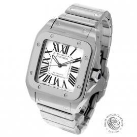 20956S Cartier Santos 100 Back 1
