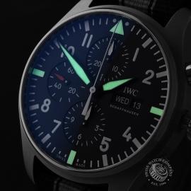 IW21663S IWC Pilots Chronograph Close1