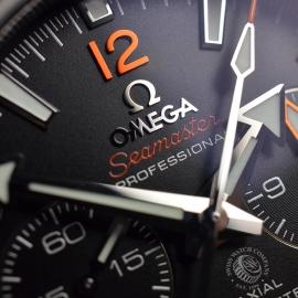 OM21024S Omega Seamaster Planet Ocean 600m Co Axial Chrono Close7
