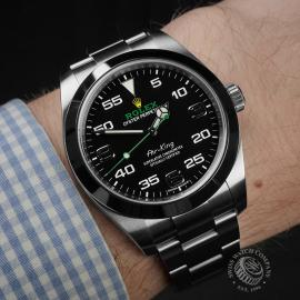 RO22395S Rolex Air King Wrist