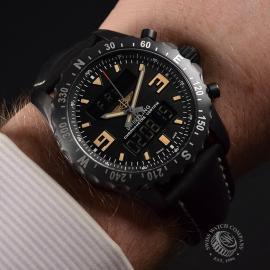 20051S Breitling Chronospace Military Wrist 1