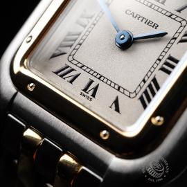 CA21923S Cartier Ladies Panthere 2-Row Close4