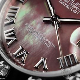 RO22303S Rolex Ladies Pearlmaster Close 4