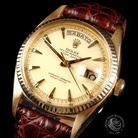 RO645F Rolex Day Date 18ct Close 2