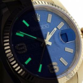 RO1816P Rolex Datejust 18ct Close1