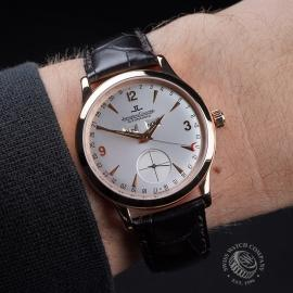 JL1879P Jaeger LeCoultre Master Date 18ct Rose Gold Wrist