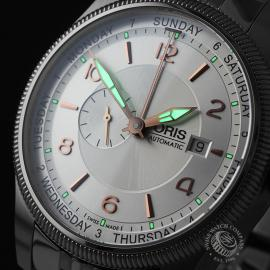 OR21845S Oris Big Crown Small Second Pointer Day Close1