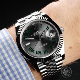RO22173S Rolex Datejust 41 Unworn Wrist