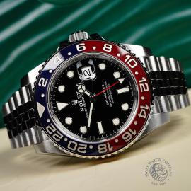 RO22120S Rolex GMT Master II BLRO Close9