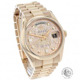 RO22196S Rolex Day-Date 36 Everose Dial