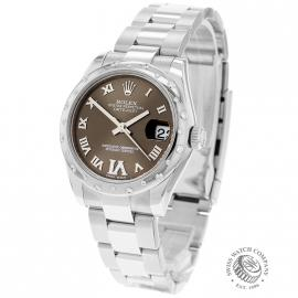 RO20780S Rolex Ladies Datejust Midsize Back
