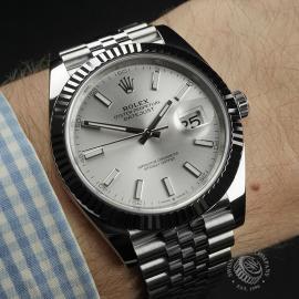 RO22357S Rolex Datejust 41 Unworn Wrist