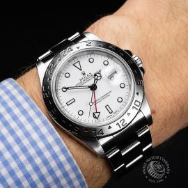 RO22070S Rolex Explorer II 'Polar' Wrist