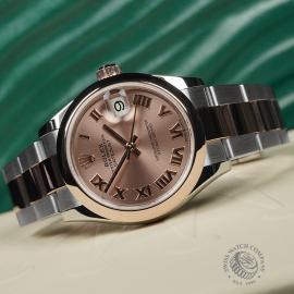 RO22560S Rolex Ladies Datejust Midsize Close11