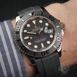 RO22598S Rolex Yachtmaster Everose Gold Wrist 1