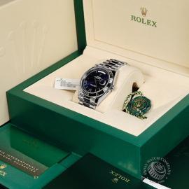 RO22142S Rolex Day-Date 40 White Gold Unworn Box