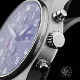 IW21663S IWC Pilots Chronograph Close7