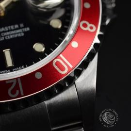 RO20324S Rolex GMT Master II - Stick Dial Close12