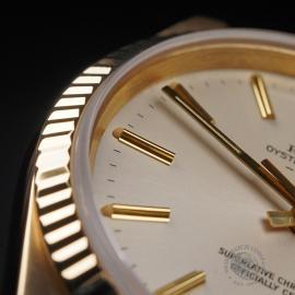 RO22533S Rolex Date 18ct Gold Close7