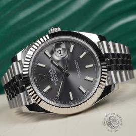 RO22583S Rolex Datejust 41 Unworn Close10