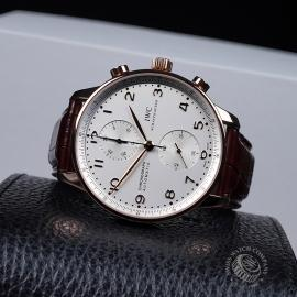 IW1888P IWC Portugieser Chronograph Close 8