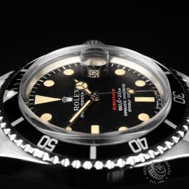 RO823F Rolex Vintage Submariner Date 'Single Red' Close6