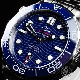 OM21801S Omega Seamaster Professional 300M Close2
