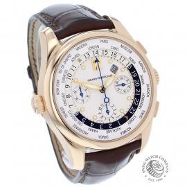 GP22191S Girard Perregaux World Time Chronograph 18ct Dial