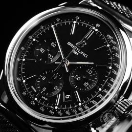 BR22078S Breitling Transocean Chronograph Close2