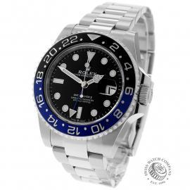 RO22681S Rolex GMT Master II 'Batman' Back