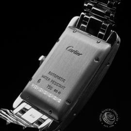 CA22213S Cartier Ladies Tank Americaine White Gold Close10