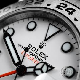 RO21745S Rolex Explorer II Orange Hand Close3