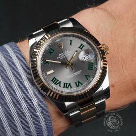 RO22692S Rolex Datejust II Wrist