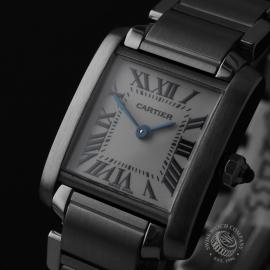 CA22133S Cartier Ladies Tank Francaise Small Model Close1