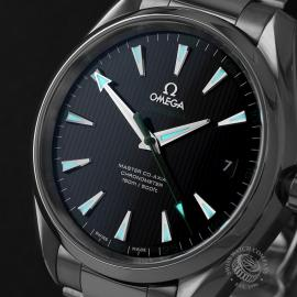 OM22415S Omega Seamaster Aqua Terra Golf Edition Close1