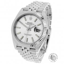 RO22357S Rolex Datejust 41 Unworn Back