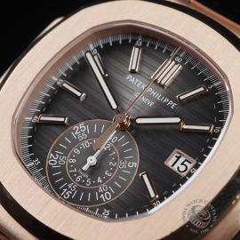 PK22578S Patek Philippe Nautilus Chronograph Rose Gold Close2