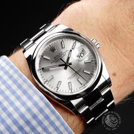 RO22047S Rolex Datejust 36 Unworn Wrist