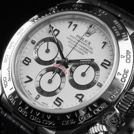 RO22609S Rolex Cosmograph Daytona 'White Gold' Close2