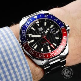 TA22134S Tag Heuer Aquaracer GMT Wrist