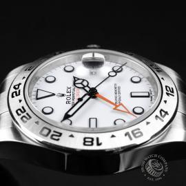RO21745S Rolex Explorer II Orange Hand Close6