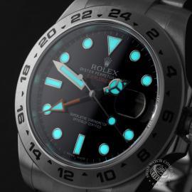 RO22374S Rolex Explorer II Orange Hand Close1